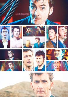 [gifset] #DoctorWho Ten and Tentoo