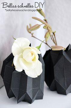 Eine Origami Vase basteln {DIY}
