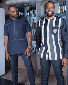 Do you need a professional tailor(s) to work with? Gazzy Consults is here to fill that void and save you the stress. We deliver both local and foreign tailors across Nigeria. Call or whatsapp 08144088142 African Dresses Men, African Attire For Men, African Clothing For Men, African Shirts, African Print Fashion, African Wear, Mens Fashion Wear, Trend Fashion, Suit Fashion