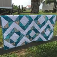 Quilting : My First Quilt Too!