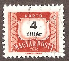 Magyar Posta Stamps 6 Hungarian Stamps that are cancelled. I am not sure of the date but could be the second part of the 20th centrury (which I found on Wikipedia). The stamps are in good condition.