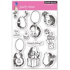 Penny Black Clear Stamps - Party Time