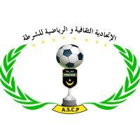 ASC Police  (Nouakchott, Mauritania) #ASCPolice #Nouakchott #Mauritania (L13686) Football Team Logos, Asia, Police, Soccer, Football, Soccer Ball, Futbol