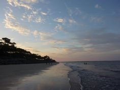 sunset at Jekyll Island, Georgia.  One of my favorite memories of family vacations!