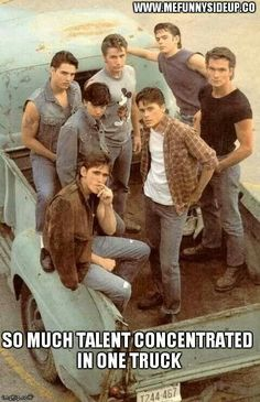 A favorite movie of all time.. The Outsiders