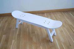 DouzeO: Un Skate-Tabouret