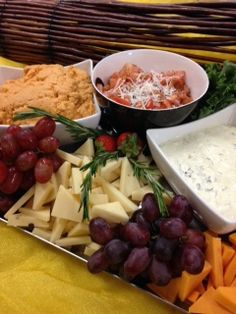 Cheese and Dips