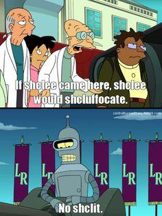 My new favorite word, shclit.