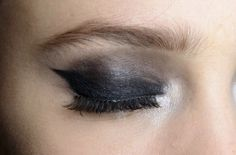 smokey cat eye #beauty #makeup #eyeliner