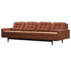 Mid Century Modern 4-Seater Sofa