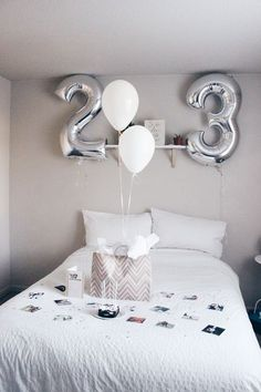 36 Trendy birthday surprise boyfriend bedroom life – Birthday Presents Birthday Room Surprise, Birthday Surprises For Her, 23rd Birthday, Diy Birthday, Birthday Presents, Birthday Weekend, Birthday Ideas, Birthday Present For Boyfriend, Gifts For Your Boyfriend