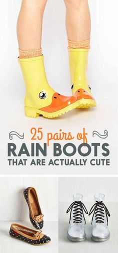 25 Adorable Pairs Of Rain Boots That You Could Wear All Day