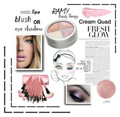 """""""Ramy Cream Quad"""" by jjanewatson ❤ liked on Polyvore featuring beauty, By Terry, Therapy, Wander Beauty, Beauty and twoways"""