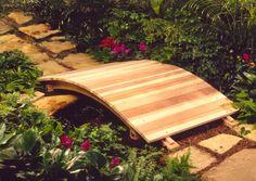 decking board DIY bridge