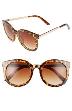 621445ee8e1d A.J. Morgan Cat D 53mm Sunglasses Tortoise Shell Sunglasses, Retro  Sunglasses, Mirrored Sunglasses,