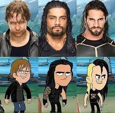The Shield Camp WWE