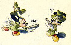 This appealing personality-packed Mickey Mouse comic strip is by comic/animation artist Daan Jippes and appeared in a 1973 issue of the Dutch DONALD DUCK MAGAZINE. Click HERE for the full … Continued