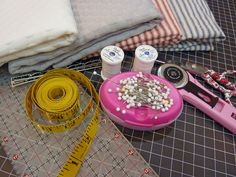 Placemats & Napkins in Terrific Ticking: Gifts in a Jiff with Fabric.com