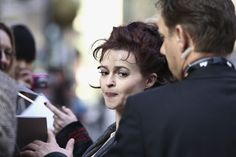 Actress Helena Bonham Carter signs autographs prior the 'Toast' Photocall during day seven of the 61st Berlin International Film Festival at the Grand Hyatt on February 16, 2011 in Berlin, Germany.