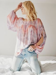 Blush Combo Mystic Tunic at Free People Clothing Boutique