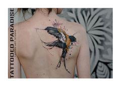 Akwarelowy tatuaż - 35 HOT wzorów na ręce, nogi i plecy - Strona 18