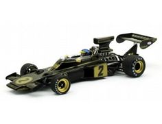 The TrueScale Minitatures 1/43 Lotus 72E 1973 Italian GP Winner No.2 R.Peterson is part of the TrueScale Miniatures 1/43 scale diecast model car range and displays some fantastic and intricate details.