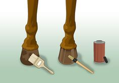 How to Make Hoof Oil: 5 Steps - wikiHow  50 ml each of vegetable oil and olive oil and mix.