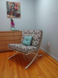 Barcelona Style Chair Regency by popcelona on Etsy. Great designer knock-off :)