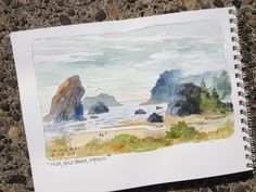DON GETZ 'WATERCOLOR JOURNAL TOUR' OF THE USA: Northern Cali and Up Into Oregon