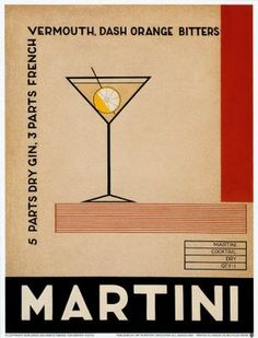 """If you can't fix it with a martini, it's not worth fixing."""