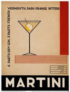 Vintage Martini advertisement
