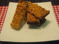 My Thermomix Kitchen - Blog for healthy low fat Weight Watchers friendly recipes for the Thermomix : Easy Muesli Bars
