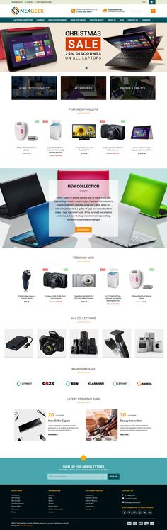 Nexgeek – Multipurpose Shopify Theme is modern, user friendly, responsive and functional theme suitable for any kinds of business stores such as Fashion, Clothes, Men Fashion, Women Fashion, Kids Fashion, Accessories, Gadgets & Digital store, Jewelries, Shoes and etc.