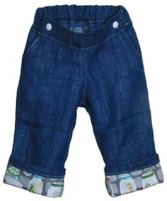 Project Pomona Pants Cloth Diaper Jeans Review.  Another pair of jeans for cloth-diapered bums!
