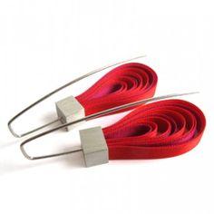 Wstążki folk różowo-czerwone 124pln