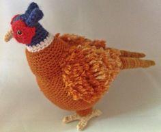Ravelry: Crochet Amigurumi Pheasant pattern pattern by Tamara Vigne (GrapeVigneCrochet)