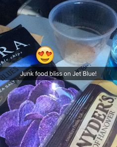 Junk food bliss on #JetBlue! #travel #travelfun #jet #planetfitness #planefood #food #foodiegram #junkfood #junkfoodjunkie