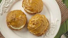 Domácí karamelové větrníky Peanut Butter, Sweet, Recipes, Food, Candy, Meals, Yemek, Recipies, Eten