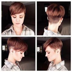 Brünetten haben mehr Spaß! 11 trendy Kurzhaarfrisuren für Frauen mit dunklen Haaren!