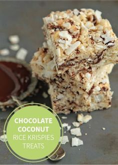 Chocolate-Coconut Rice Krispies Treats® are the perfect way to put a chocolaty spin on a classic!