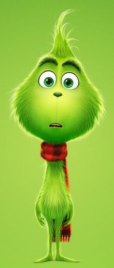 The Grinch is the titular redeemed protagonist anti-hero from the computer-animated film Dr. Seuss' The Grinch based on the book of the same name by Dr. Seuss and the remake version of the Jim Carrey 2000 live-action film. O Grinch, The Grinch Movie, Grinch Christmas Party, Cute Disney Wallpaper, Emoji Wallpaper, Cute Cartoon Wallpapers, Disney Art, Disney Movies, Illustration Noel