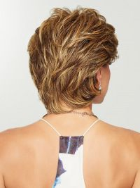 Wear this heat friendly synthetic wig for easy styling! Gratitude by Eva Gabor Wigs is a comfortable wig choice for women with hair loss. Short Hair With Layers, Short Hair Cuts For Women, Short Hairstyles For Women, Razor Cut Hairstyles, Hairstyles For Over 60, Short Hair Round Face Plus Size, Short Gray Hair, Hair Cuts For Over 50, Teenage Hairstyles