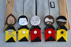 Star Trek Felt Activity Book (there's a Star Wars version too!)