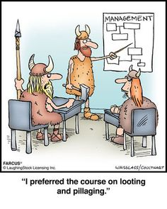 No matter what age you live in, class should never be boring, as in this #Farcus cartoon. Find an interesting class in our online catalog:https://cbc.ed4online.com