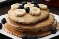 Here's a video showing you how to make them: | These Vanilla Protein Pancakes Are Healthy AF