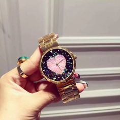 Cheap dresses leggings, Buy Quality dress pocket watch directly from China dress sweet Suppliers: Top Quality Luxury lady Crystal Watch Women Gold Dress Watch. Gold Watches Women, Rose Gold Watches, Fashion Accessories, Fashion Jewelry, Beautiful Gifts, Gold Dress, All About Fashion, Fashion Watches, Pretty Outfits