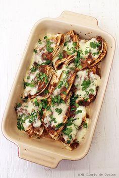 Mi Diario de Cocina   Enfrijoladas   http://www.midiariodecocina.com/en