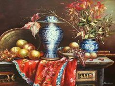 Beautiful still life. British Colonial, Finding A House, Local Artists, Still Life, Around The Worlds, Display, Painting, Inspiration, Beautiful