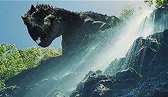 Indominus waterfall Jurassic World