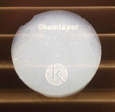 Aerogel Chemistry laser marking logo signature